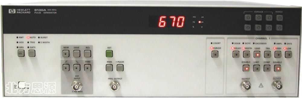 可编程高速脉冲信号发生器 HP8130A