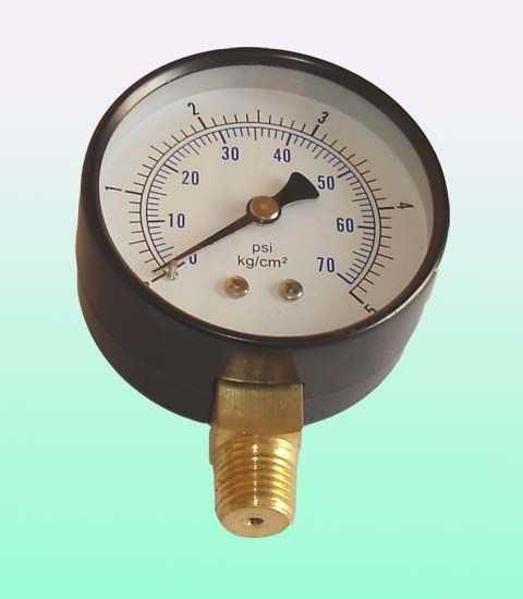 60MM径向5KG气压表