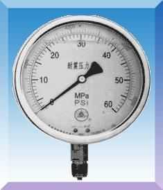 YTN-50/60/100/150--双刻度耐震压力表