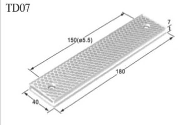 光电传感器反射板td01-1