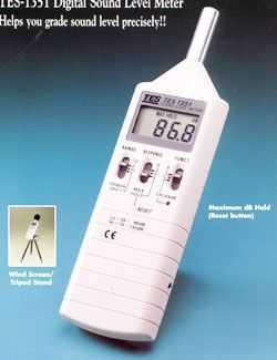 台湾泰仕TES-1351噪音计