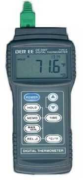 DE-3007-数字式温度计,台湾得益