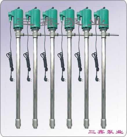 三鑫不锈钢隔爆油桶泵YBYB-40P│化工泵,耐腐蚀泵