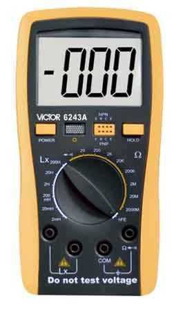 VICTOR 6243A数字电感/电容/电阻表