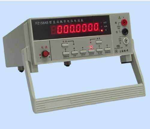 pz158ab-直流数字电压电流表-上海乾峰电子仪器有限
