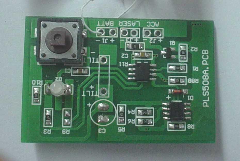 pls-36 激光水平仪电路板