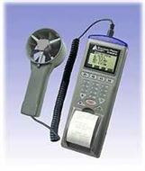 列表式风速/风温/风量/湿度/露点仪9871