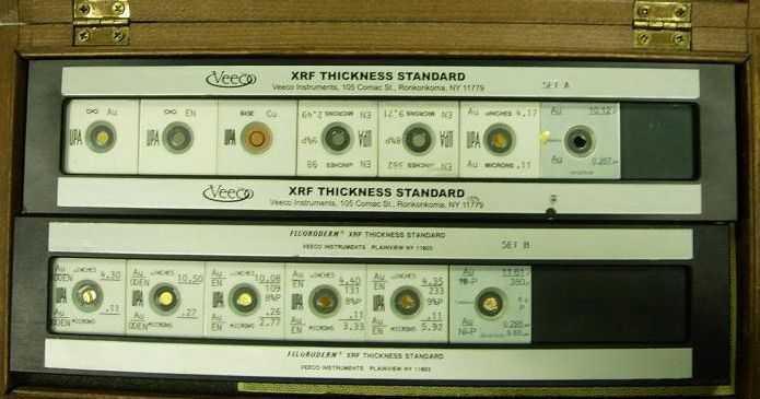 X-RAY镀层膜厚测试仪标准片