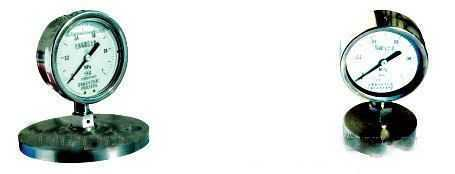 隔膜耐震压力表/隔膜耐震压力表型谱说明