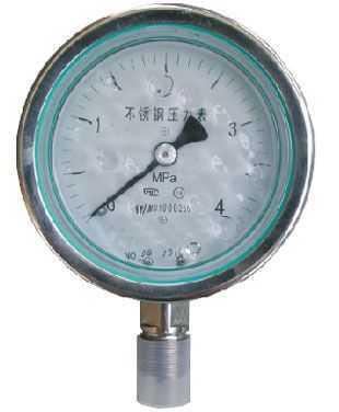 不銹鋼耐腐蝕壓力表
