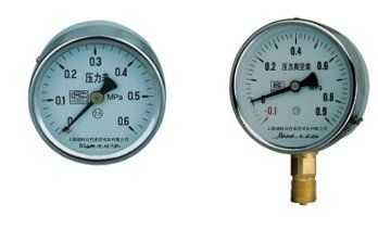 一般压力表卫生型双针压力表