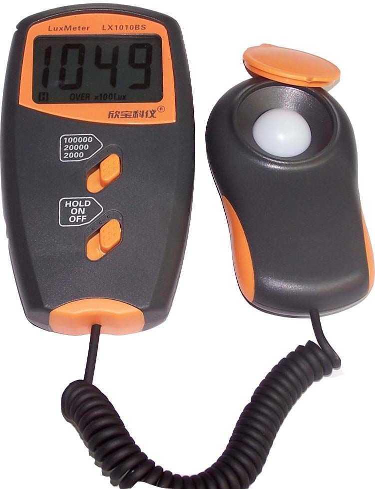 LX1010BX数字照度计/光度表