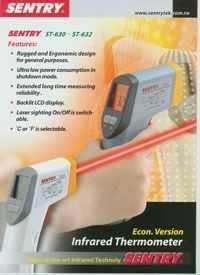 台湾先驰经济型红外测温仪 非接触式温湿度计