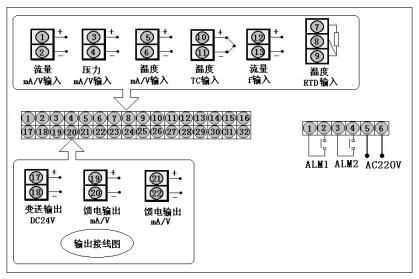 RLK带打印流量积算控制仪