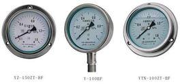 耐震隔膜压力表 YTN-100