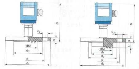 法兰式隔膜压力变送器