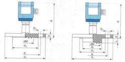 SWP-T203、SWP-T213、SWP-T223法兰式隔膜压力变送器