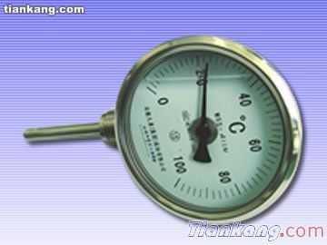 不锈钢中低温径向型双金属温度计优质供应商
