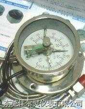 100MM全不锈钢带软管电接点温度计