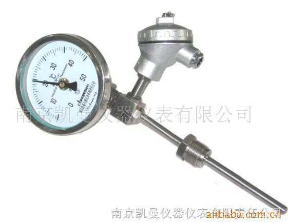 带热电偶热电阻双金属温度计