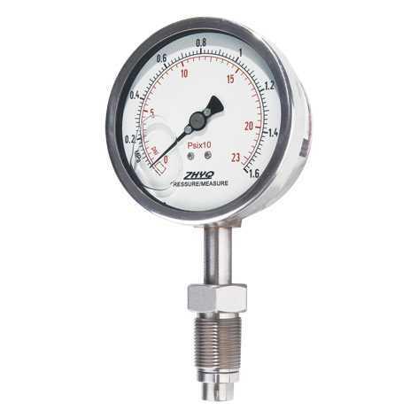 标准型隔膜压力表