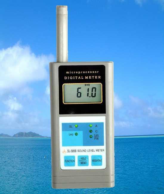 SL-5858多功能聲級計/多功能噪音計SL5858