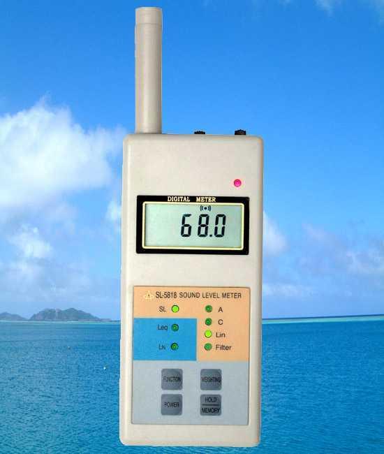 SL-5818噪音計/多功能聲級計/多功能噪音計SL5818