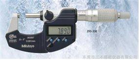 日本三丰IP65尘、水防护数显千分尺