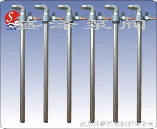 盛泽气动专用油桶泵