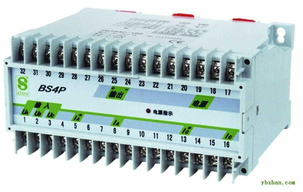 jd194-bs4q-y(原bs4q-y) 三相四线无功功率变送器