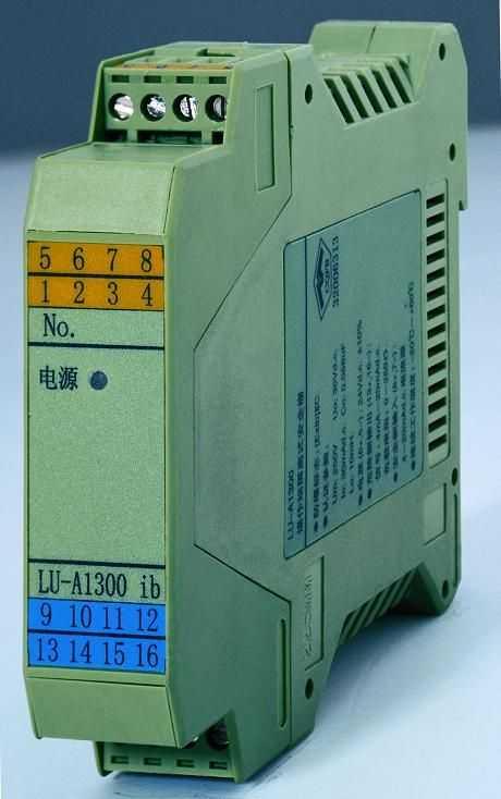 检测端(信号输出)F型隔离安全栅(一入一出)