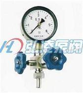 仪表针型阀,含压力表