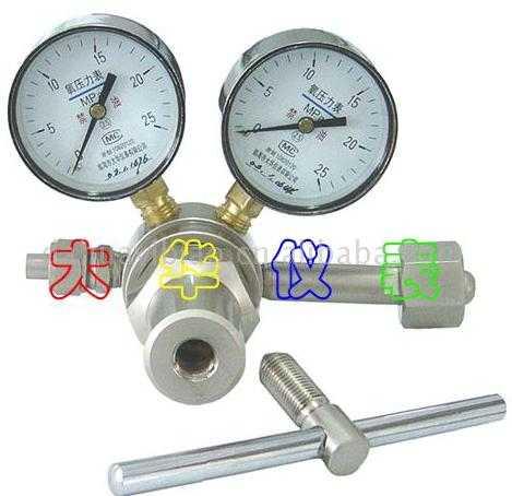 高压氧气减压器--YQY-25型