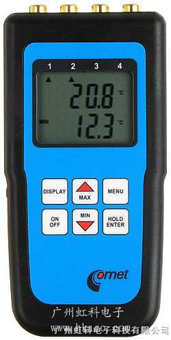 供應Ni1000,Pt1000--手持式溫度記錄儀