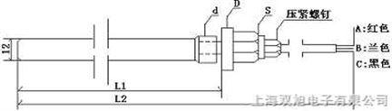 室内用双支铂热电阻,WZP2-892