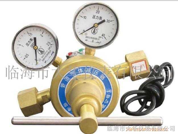 电加热二氧化碳大流量减压器YQC-754-R型