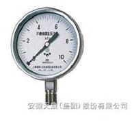 YE-100B/150B系列不銹鋼膜盒壓力表
