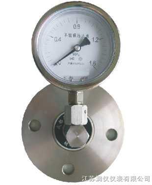 YTP--普通隔膜压力表