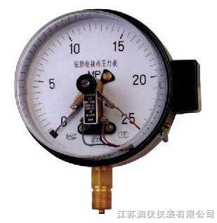 JSRY-QE--磁助电接点压力表