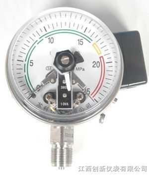 电接点氨压力表