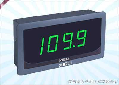 数显面板电压表