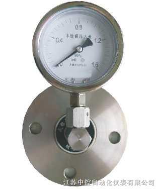 ZK-YTP--普通隔膜压力表