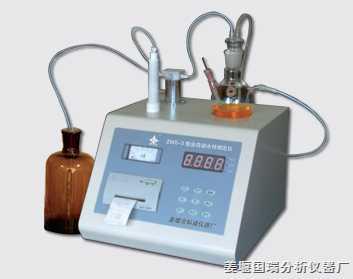卡式水份测定仪