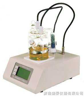 电解法油脂水分仪