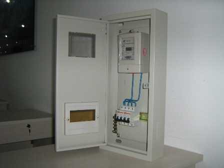 统一安装在一个电表箱