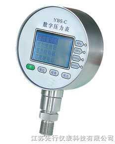 XX-YBS-C系列精密数字压力表