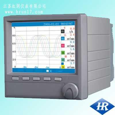 HR-XJ-6000-單色無紙記錄儀(藍屏)