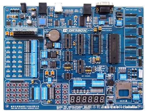 QL200 PIC单片机综合开发实验系统