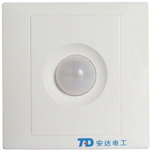拓安達紅外感應開關 延時感光可調 直接替換聲光控觸摸延時開關