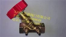 黄铜数字锁定平衡阀,数字平衡阀,水力平衡阀,静态平衡阀,手动平衡阀,丝扣平衡阀